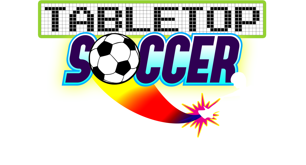 Logo for TableTop Soccer App